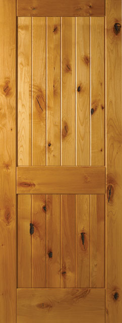 Sierra Knotty Alder Wood Interior Doors French Doors