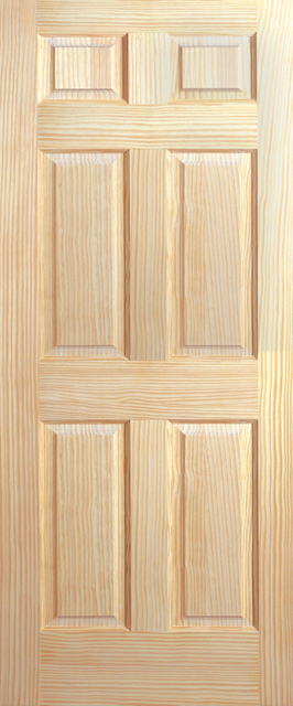 Sierra clear pine interior doors french doors exterior for Solid core vs solid wood doors