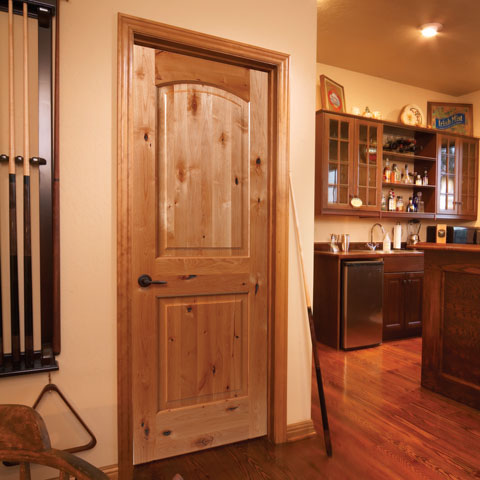Knotty Alder Interior Door
